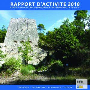 Rapport d'activité - Architecture Vaucluse